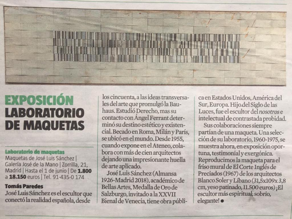 La Vanguardia 19 may 19